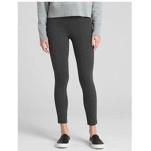 NWT Gap Ponte Side Zip Leggings Gray Size SP v446